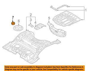 AUDI OEM 08-17 A5 Quattro Front-Bumper Bracket Nut N01508210