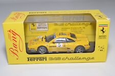 V 1:43 BANG 9305 FERRARI 348 CHALLENGE 93 PAOLO ROSSI YELLOW MINT BOXED