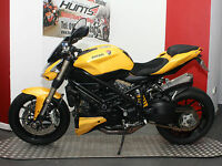 Ducati F848 Streetfighter. Stunning Bike in Fighter Yellow. MUST BE SEEN!