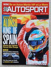 Autosport magazine 16th May 2013 - Spanish GP, RS500 BMW M3