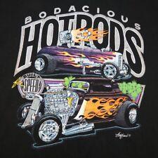 BODACIOUS HOTRODS HOT RODS RACING CAR RCOKABILLY RATROD T SHIRT Sz Mens M
