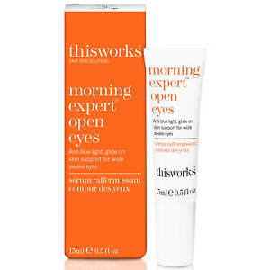 This Works Morning Expert Open Eyes 15ml - New, Boxed