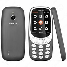 Nokia 3310 3G TA-1036 GSM Bar Cell Phone US - Charcoal (Unlocked) - NEW™