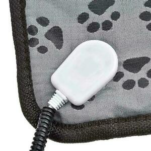 Pet Electric Heat Pad Blanket Heated Heating Mat Dog Waterproof Cat Bed AU F3F6