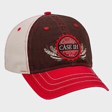 Case IH Vintage Chino Brown/Tan/Red Cap