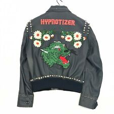 GUCCI LEATHER HYPNOTISER LEATHER STUD JACKET SIZE 48 - M RRP £5800