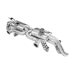 """Audi R8 V8 Topgear F1 Style Valved Performance Exhaust 3"""". 2012-2016 Facelift"""