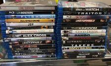 30 Lot Blu Ray Movies Will Smith Action Rambo Benjamin Button Lone Survivor
