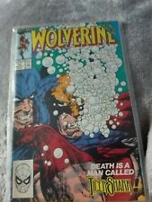 Marvel Wolverine - Issue 19. Comic near mint condition dust cover faded with age