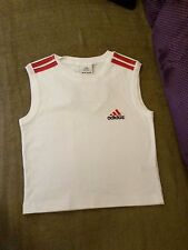 ADIDAS ladies top, size S, LYCRA, white, new with tag