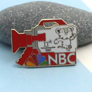 PyeongChang 2018 Olympic Winter Games MEDIA PIN MASCOT  NBC SOOHORANG TIGER