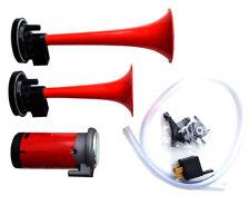 Twin Air Horn Set For Classic Mini, Austin, Morris, Cooper, Rover