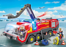 Playmobil 5337 Fire Engine Airport Fire Rescue Truck with Lights and Sound
