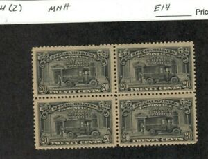 US Scott #E14 MNH F/VF Block of 4 (2)