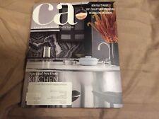 CA Home & + Design California Magazine Fall Autumn 2017 Lifestyle Bed Bath