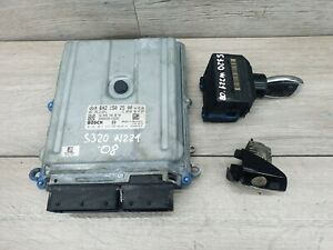 MERCEDES S CLASS W 221/ 06 /09 / IGNITION LOCK SET WITH KEY AND ECU A 6421502500