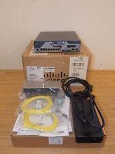 NEW Cisco C1861-SRST-C-F/K9 Router SRST or CME 8x PoE 4FXS 4FXO + HWIC-1ADSL NEU