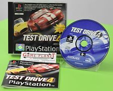 Test Drive 4  OVP Sony Playstation 1 P1 PSX Pone