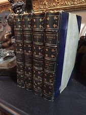 The Complete Poetical Works of Whittier, Riverside Ed., 1894, 4 of 7 Vols, Rare