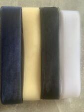 "2""/50mm x 1 Metre Lgth Crinoline Hats Fascinators Sewing Edging Skirts 4 Colours"
