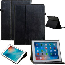 """Luxury Funda para iPad de Apple Pro 10,5"""" Bolsa iPad Tableta Cuero Negro"""
