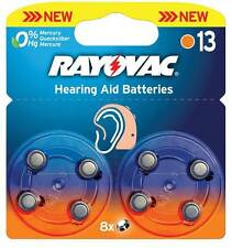 Rayovac batteries d'aide auditive 1.4V 290mAh 8 pcs the environmentally sound entendre