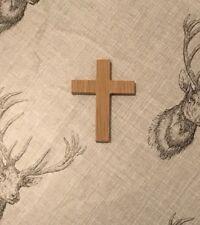 Small Wooden Cross Made From Oak Veneer