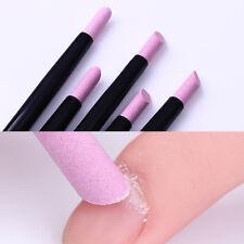 5Pcs Nail Quartz Stone Scrub Pen Cuticle Remover Pusher Manicure Nail Care Tool
