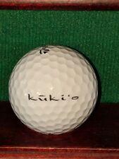 Kukio Golf and Beach Club Kona Hawaii logo golf ball. TaylorMade Penta TP5