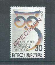 CYPRUS STAMPS 2003 30 CENT MINT SPECIMEN