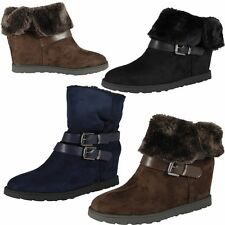 High Heel (3-4.5 in.) Wedge Ankle Boots for Women