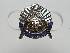 "Masonic Tie Tack or Lapel Pin; Custom Made; 10K-TT; 1/2"" ; 3.1g"