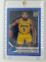 2019-20 Panini Optic Blue Velocity Prizm Talen Horton-Tucker Rookie RC #151