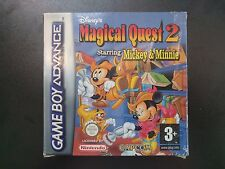 GAMEBOY ADVANCE  - MAGICAL QUEST 2 STARRING MICKEY & MINNIE