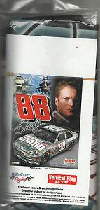 DALE EARNHARDT JR #88 CAMO CAR 2008 27X37 WINCRAFT VERTICAL FLAG