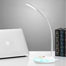 LAMPARA FLEXO LED Mesa Luz Multicolor Flexible Para Estudio Mesa Plegable LUCES