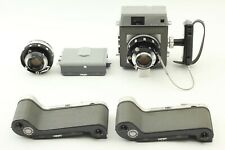 【Excellent】Mamiya Press w/ 90mm +100mm Lens / 6x9 Film Back x2 from JAPAN #495