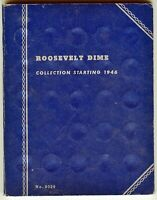 Whitman Roosevelt Dime Collection starting 1946 - 9014