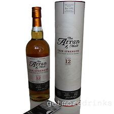 Arran Cask Strength 12 Jahre One of 15.000 limitiert Batch Number 3 Whisky 53,9%