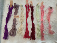 Lot of Antique Filo Silk Embroidery Thread Floss