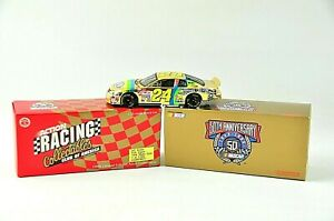 Action RCCA 50th Anniversary #24 DuPont 1998 Jeff Gordon 1:32 Diecast GOLD Car