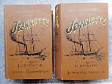 The Voyage Of The Jeannette Illustrated Journals of George De Long 1883 First Ed