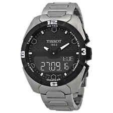 Tissot T-Touch Expert Solar Black Dial Men's Watch T0914204405100