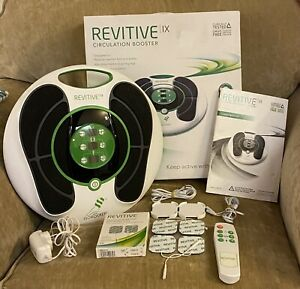 REVITIVE IX Circulation Boosterwith Iso rocker 99 levels with EMS and TENS