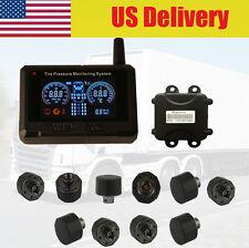 TPMS Tire Pressure Monitoring System 10 tire pressure Sensor Trailers RV TPMS