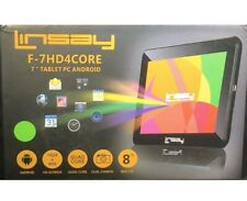 "Linsay F-7HD4CORE Tablet PC 7"" PC Android HD Quad Core 8GB Dual Camera NEW"