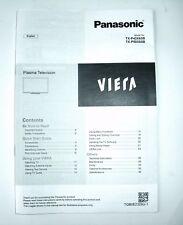 Panasonic TX-P42X60B TX-P50X60B Viera Bedienungsanleitung