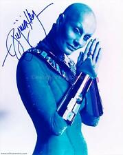 VIRGINIA HEY as Pa'u Zotoh Zhaan - Farscape GENUINE AUTOGRAPH UACC (R4434)