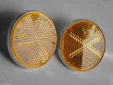 Suzuki TS 100 125 185 250 400 OR50 GT750 Front Reflector Assy High Quality Amber