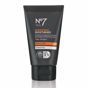 No7 Men Energising Moisturising Cream 50ml with UVA/SPF15 Protection & Vitamin C